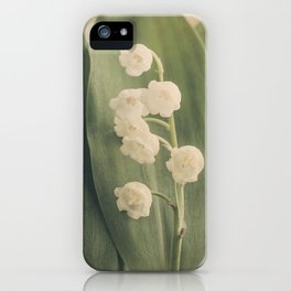 Scents of Spring - Lily of the Valley iii iPhone Case