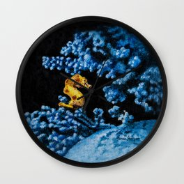 Jewel of the Coral Reef by Teresa Thompson Wall Clock
