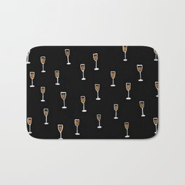 More Champagne Please Bath Mat