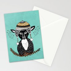 Hipster Deer Stationery Cards