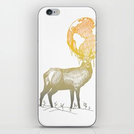 Deer God iPhone Skin