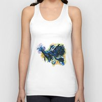 tardis Tank Tops featuring Tardis  by DifficultyEasy