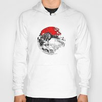 pokeball Hoodies featuring POKEBALL by Smart Friend