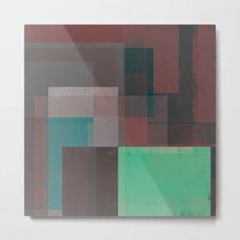 Abstract Geometry No. 15 Metal Print