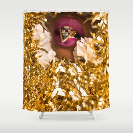 A Light Snack Shower Curtain
