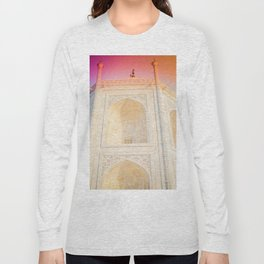 Morning Light at Taj Mahal Long Sleeve T-shirt