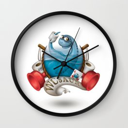 WCsaur Wall Clock