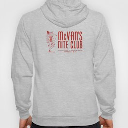 McVan's Nite Club in Red Hoody