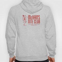 McVan's Nite Club in Red Hoody