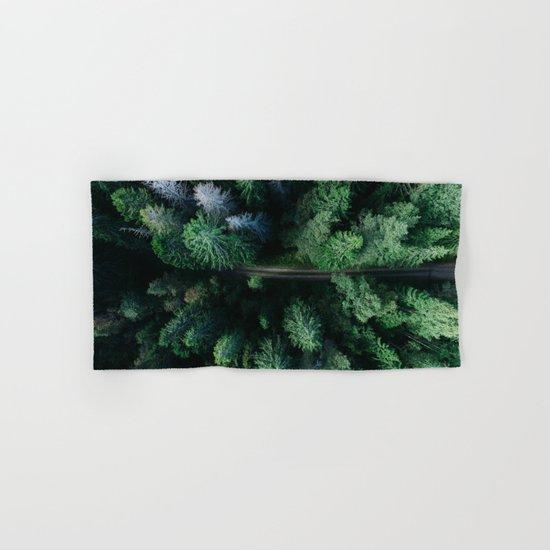 Woods #sky Hand & Bath Towel