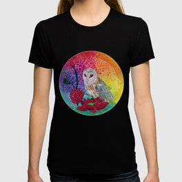 Lakshmi's Vahana ( Bird Whisperer Project Owl ) T-shirt