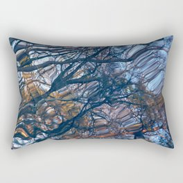 floating trees 2 Rectangular Pillow