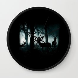 Guardians of the Forest Wall Clock