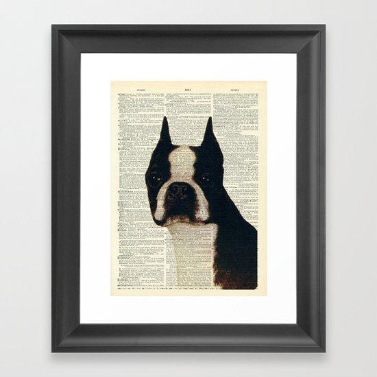 American Gentleman Framed Art Print