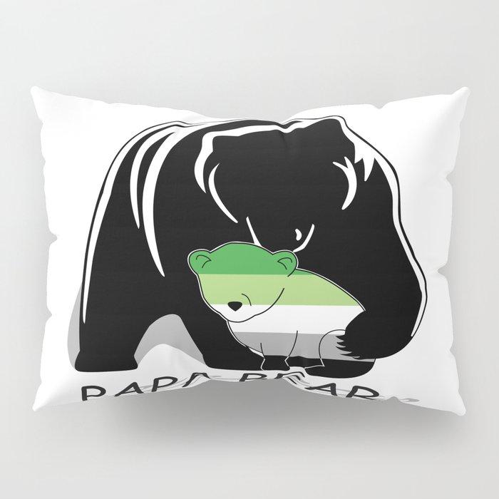 Papa Bear Aromantic Pillow Sham