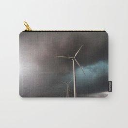 Wind Farm - Renewable Energy on the Texas Plains Carry-All Pouch