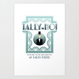 Tally-Ho! Art Print