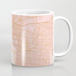 Melbourne map, Australia Coffee Mug