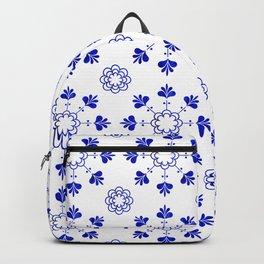 blue morrocan dream no2 Backpack