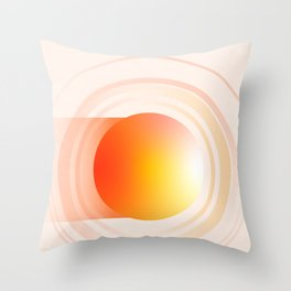 Saturn - The Ringed Planet Throw Pillow
