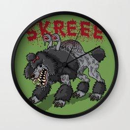Parasite Poodle Wall Clock