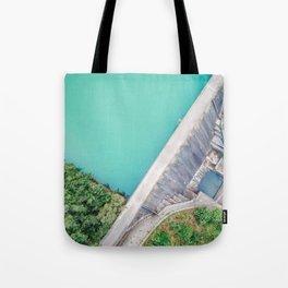 Dam of Reservoir Tote Bag