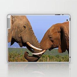 Friendship - Africa wildlife Laptop & iPad Skin