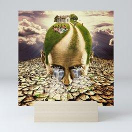 Inhabited Head Mini Art Print