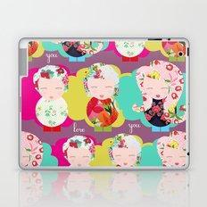 I Love you Laptop & iPad Skin