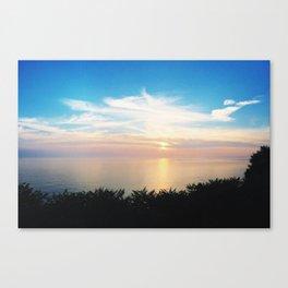 LAKE MICHIGAN SUNSETS Canvas Print