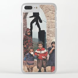 Outdoor Shenanigans Clear iPhone Case