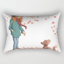 Just a two of us (autumn) Rectangular Pillow