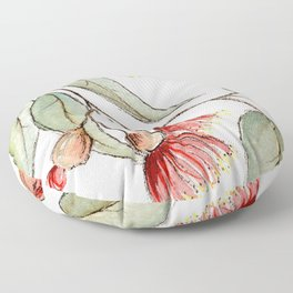 Flowering Australian Gum Floor Pillow