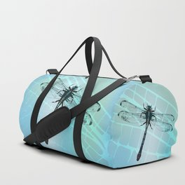 Dragonfly vector Duffle Bag