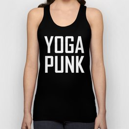 yoga punk Unisex Tank Top