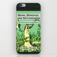 bondage iPhone & iPod Skins featuring Being, Bondage, and Nothingness by Xandra Fraser