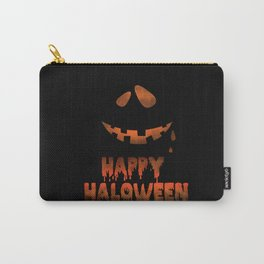 Happy Halloween Evil Smile Carry-All Pouch