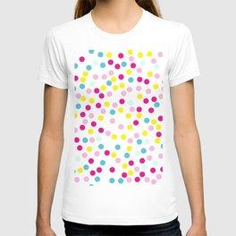 Polka dot pattern T-shirt
