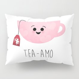 Tea-amo Pillow Sham