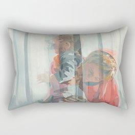 Holy Family (Red Riding Hood) Rectangular Pillow