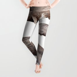 Sperm whale family Leggings