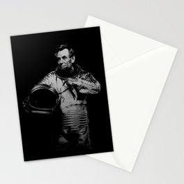 Astronaut Abe Stationery Cards