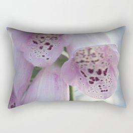 Purple Foxgloves Rectangular Pillow