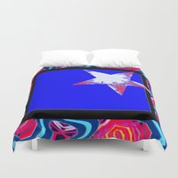 carnival Duvet Covers featuring Carnival by Susan Laine Studios