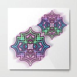 Star Gliph Metal Print