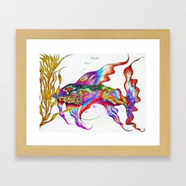 Punky Bruster Goby Framed Art Print