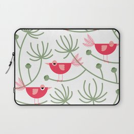 Resting Birdies - Pink Laptop Sleeve