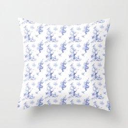 Ravenclaw Toile Throw Pillow