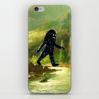 sasquatch iPhone & iPod Skins featuring Sasquatch by Andy Detskas