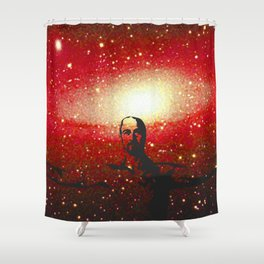 Life's too short to be pissed off all the time Shower Curtain